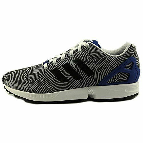 {B27458} MEN'S FASHION ADIDAS ORIGINALS ZF FLUX FASHION MEN'S SNEAKER GREY/BLACK/WHITE *NEW!* 6c8c23
