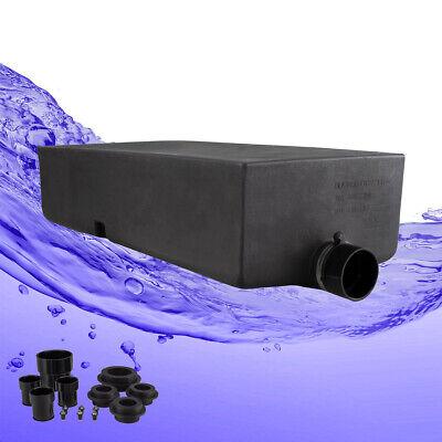 0211W Fresh Water Tank RecPro 45 Gallon RV Water Tank 34 1//2 x 19 3//4 x 15 3//4 Includes Fittings Kit
