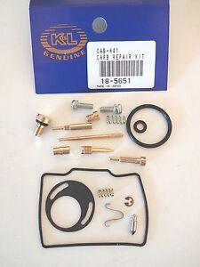 Carburetor Repair Kit Honda XR80R 1987-1999 Motorcycles K&L 18-5651 Carb Kit