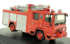 Unbranded-1-76-Scale-Dennis-Carmichael-F111-Fire-Engine-Resin-White-Metal-Tender