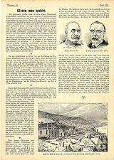Dawson City Hauptstadt der Klondyke-Gold-Felder vollständig niedergebrannt..1899