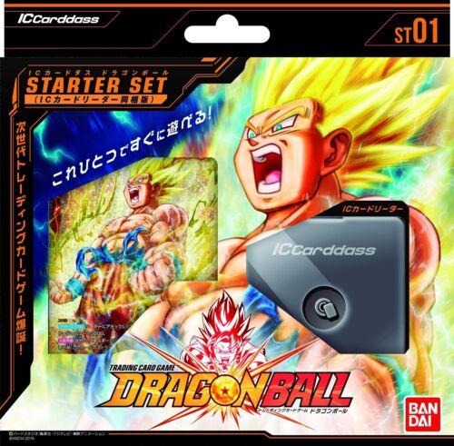 BANDAI Dragon Ball IC Cardass IC Card Reader first bullet starter set ST01 F//S