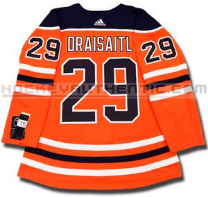 LEON DRAISAITL EDMONTON OILERS HOME AUTHENTIC PRO ADIDAS NHL JERSEY