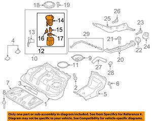 Admirable Fiat Oem 17 18 124 Spider 1 4L L4 Fuel Pump 68313125Aa Ebay Wiring Cloud Aboleophagdienstapotheekhoekschewaardnl
