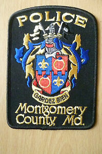 Patches MONTGOMERY COUNTY MD GARDEZ BIEN POLICE DEPT PATCH NEWapx5x310 - <span itemprop=availableAtOrFrom>ilford, Essex, United Kingdom</span> - Returns accepted Most purchases from business sellers are protected by the Consumer Contract Regulations 2013 which give you the right to cancel the purchase within 14 days after th - ilford, Essex, United Kingdom