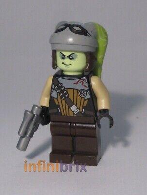 Lego CUSTOM Black Naboo Red Fighter Pilot Star Wars Minifigure BRAND NEW cus257