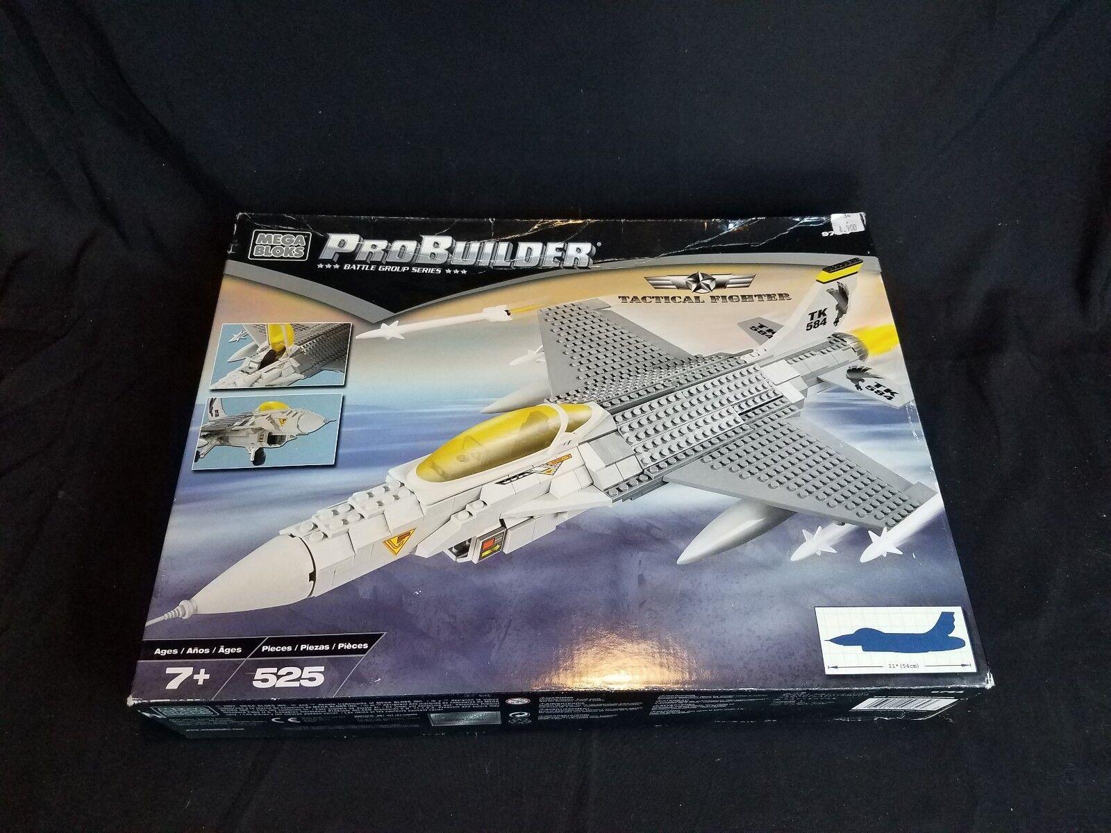 Mega Bloks Probuilder Tactical Fighter New Sealed