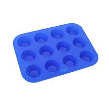 Silicone cake mold silicone muffin cups 12 round Jello chocolate pudding mold