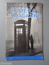R&L Vintage Mag, The Miniature Camera January 1952, Photavit/Animal Macro