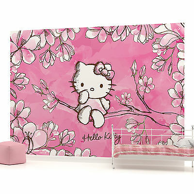 WALL MURAL PHOTO WALLPAPER (454PP) Hello Kitty Girls Childrens