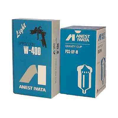 ANEST IWATA W-400 W400 182G 1.8 mm Gravity Spray Gun with 600ml Cup Brand NEW