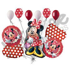 11pc Minnie Mouse Happy Birthday Balloon Bouquet Party Decoration Cartoon Disney