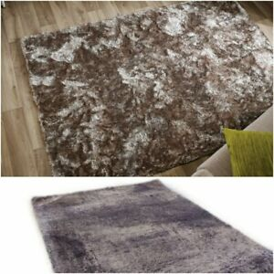 Thick Very Soft Touch Rug Shine Luxury