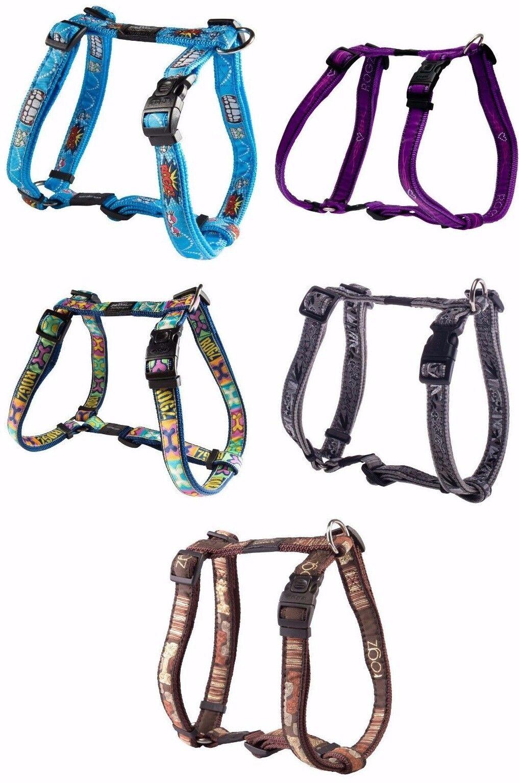 Rogz Kostüm verstellbar Nylon Hund Kabelbäume viele Farben und Größen Größen Größen     | Up-to-date Styling  9dbc53
