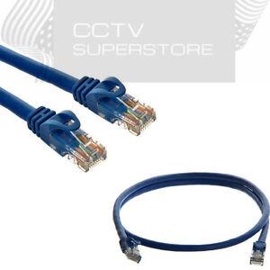 15ft Cat6 Patch Cord Cable Ethernet Internet Network LAN RJ45 UTP Blue