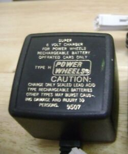 Power Wheels 6vdc Battery Chargers Model:bc-120-61200 And Model:c-6080 Mild And Mellow Electronic, Battery & Wind-up Ride On Toys & Accessories