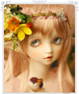 Fashion BJD 1//4 Doll Ka face make up with free eyes Elf boy