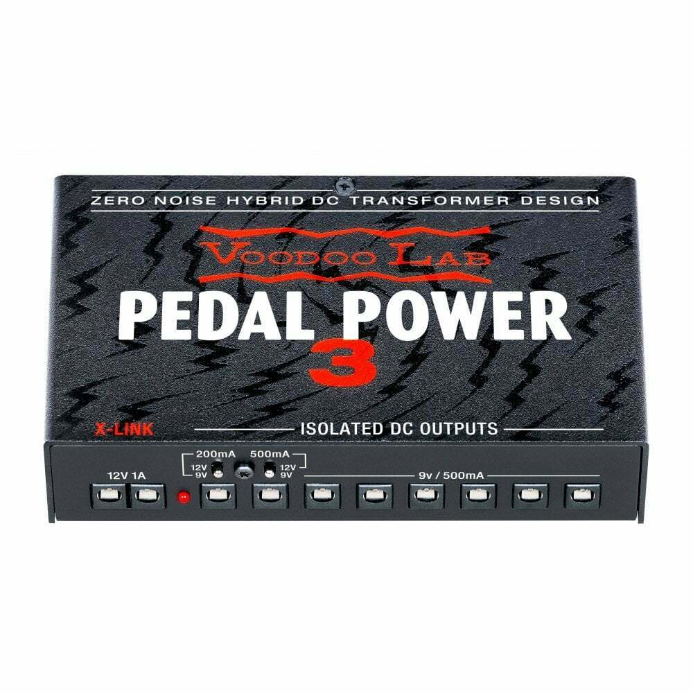 Voodoo Lab Pedal Power 3 Lightweight High Current Guitar Pedal Power Supply