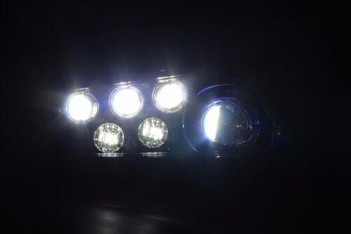 16-17 POLARIS GENERAL 1000 VELOCITY BLUE LED HEADLIGHTS CONVERSION KIT SET