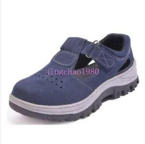 New Womens Antislip Anti Puncture Occupational Steel Toe Working Safety Shoes Ch