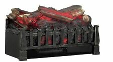Duraflame Electric Log Set Heater Realistic Ember Bronze Fireplace Fire Place