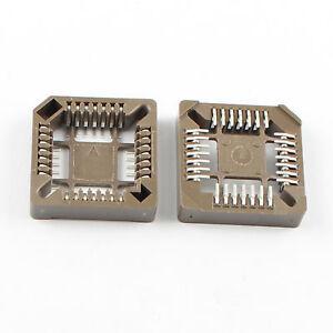 50Pcs PLCC28 28 Pin SMT Socket Adapter PLCC Converter