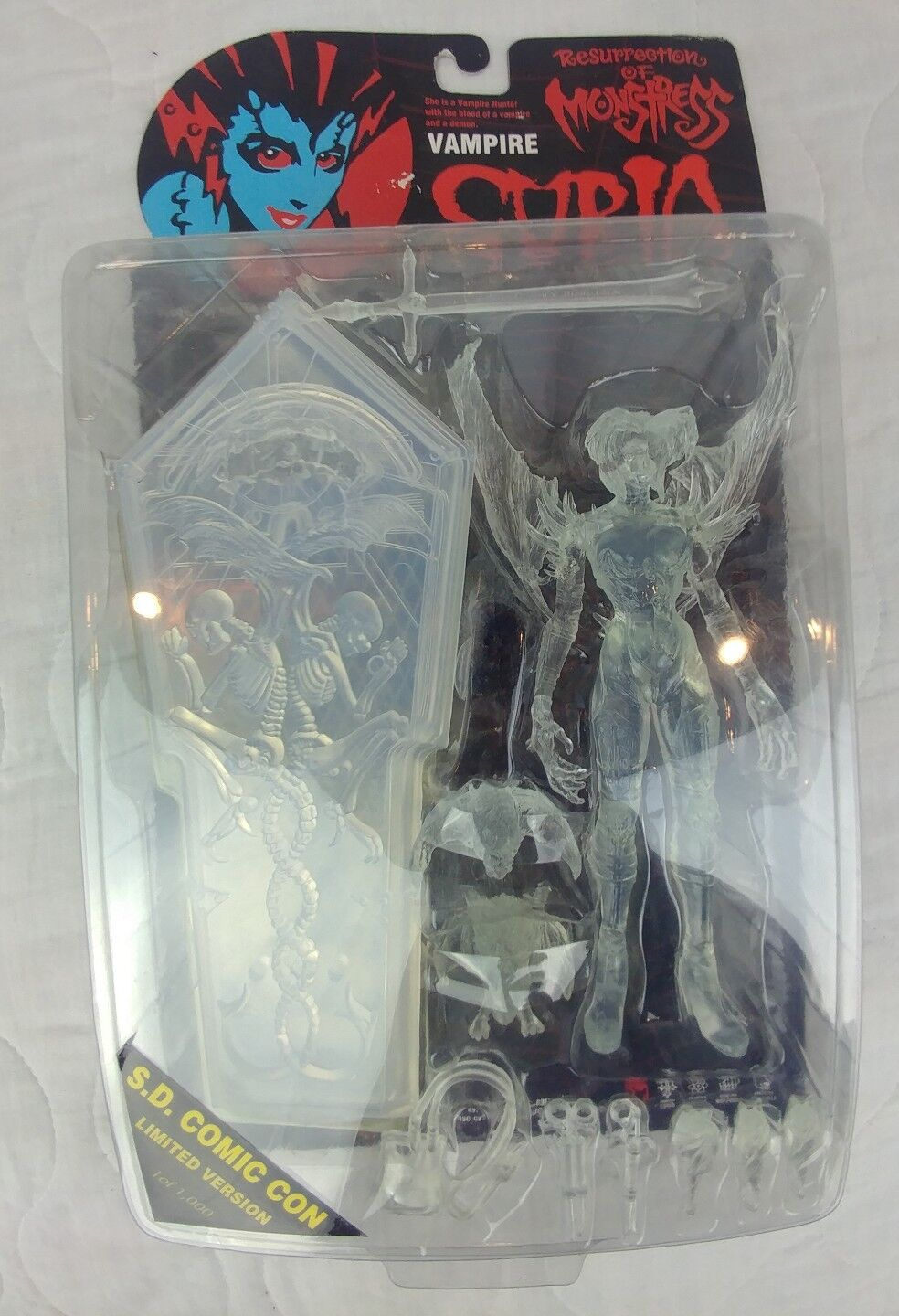 Resurrection of Monstress Vampire Curia S.D COMIC CON Clear Version 1 OF 1000