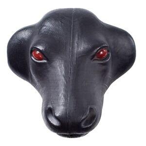 AH Equine Black Calf Head Roping Dummy horse tack 248-953