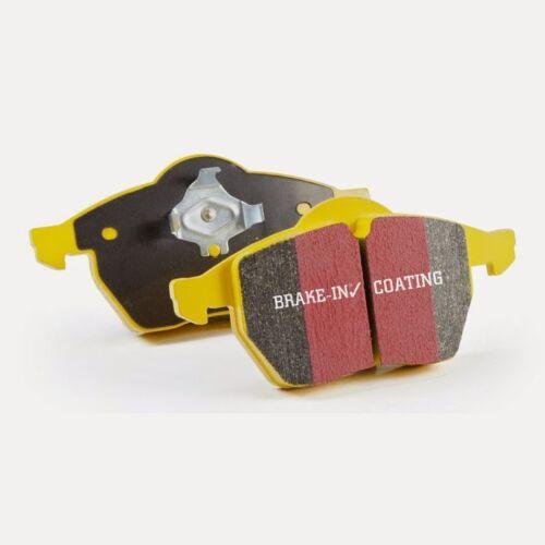 EBC Yellowstuff Sportbremsbeläge Hinterachse DP4370R für Audi S2