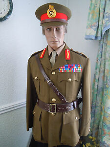 British Army Major Generals No 2 Complete Uniform Cap Etc