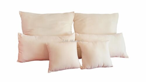 Fleece Cushion Pillow Flausch finished Cushion Various Sizes well filled with PES