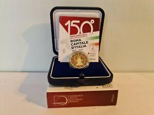 Coffret 2 Euros Proof BE Commémorative Italie 2021 ROMA