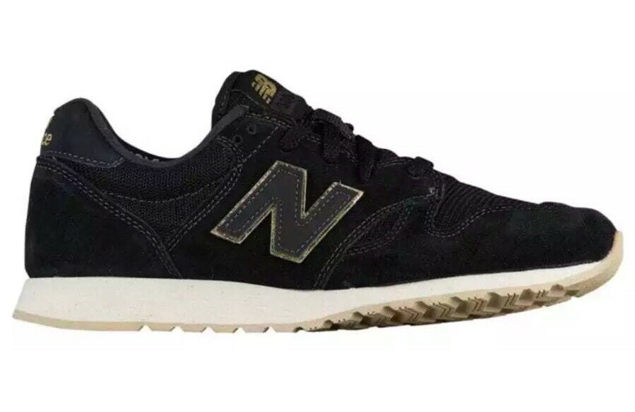 New Balance WL520MR Black/Gold/Ivory Women's Size 6 Running Shoes Sneakers