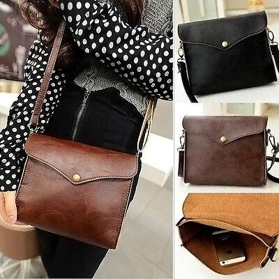 Faux Leather Shoulder Bags Satchel Clutch Women Handbag Tote Girl Messenger