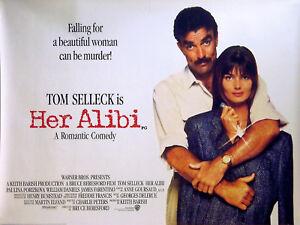 Her Alibi 1989 Tom Selleck Paulina Porizkova William Daniels Uk