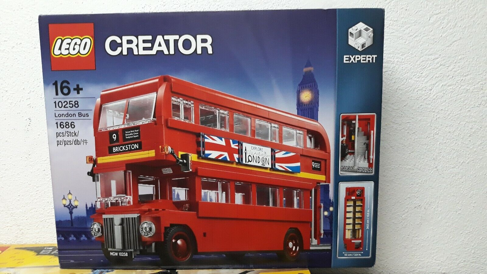LEGO Creator Expert London Bus 2017 10258 New Sealed