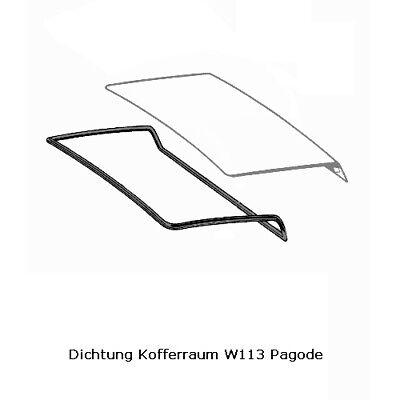P002// Mercedes Pagode W113 250SL Kofferraumdichtung Heckdeckeldichtung