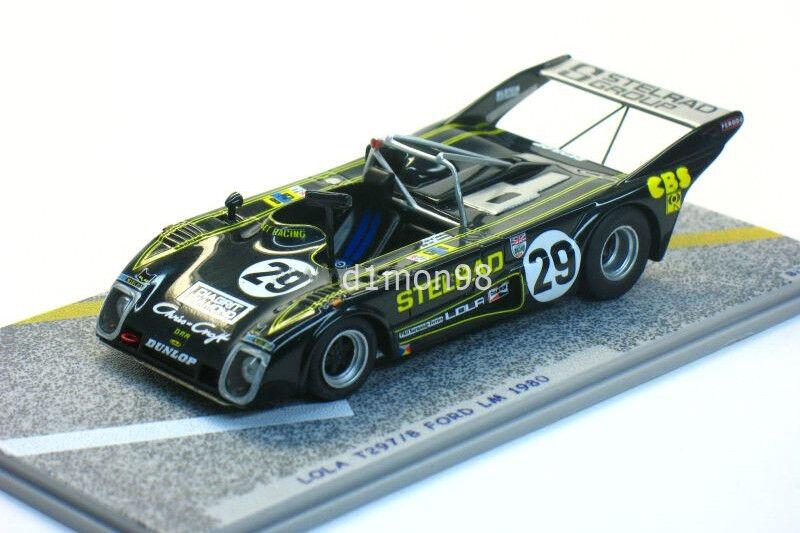 tienda de bajo costo Lola T297 8 Ford Ford Ford  29 LM M. BIRRANE – N. Mason – P. Clark 1980 1 43 Bizarre BZ17  perfecto