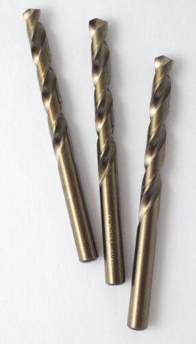 10 Cobalt-Bohrer DIN 338 HSS-CO Spiralbohrer HSSE Metallbohrer 1,4 mm