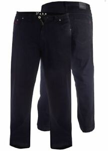DUKE-LONDON-RELAXED-COMFORT-FIT-STRETCH-JEANS-BALFOUR-WASHED-BLACK-WAIST42-034-60-034