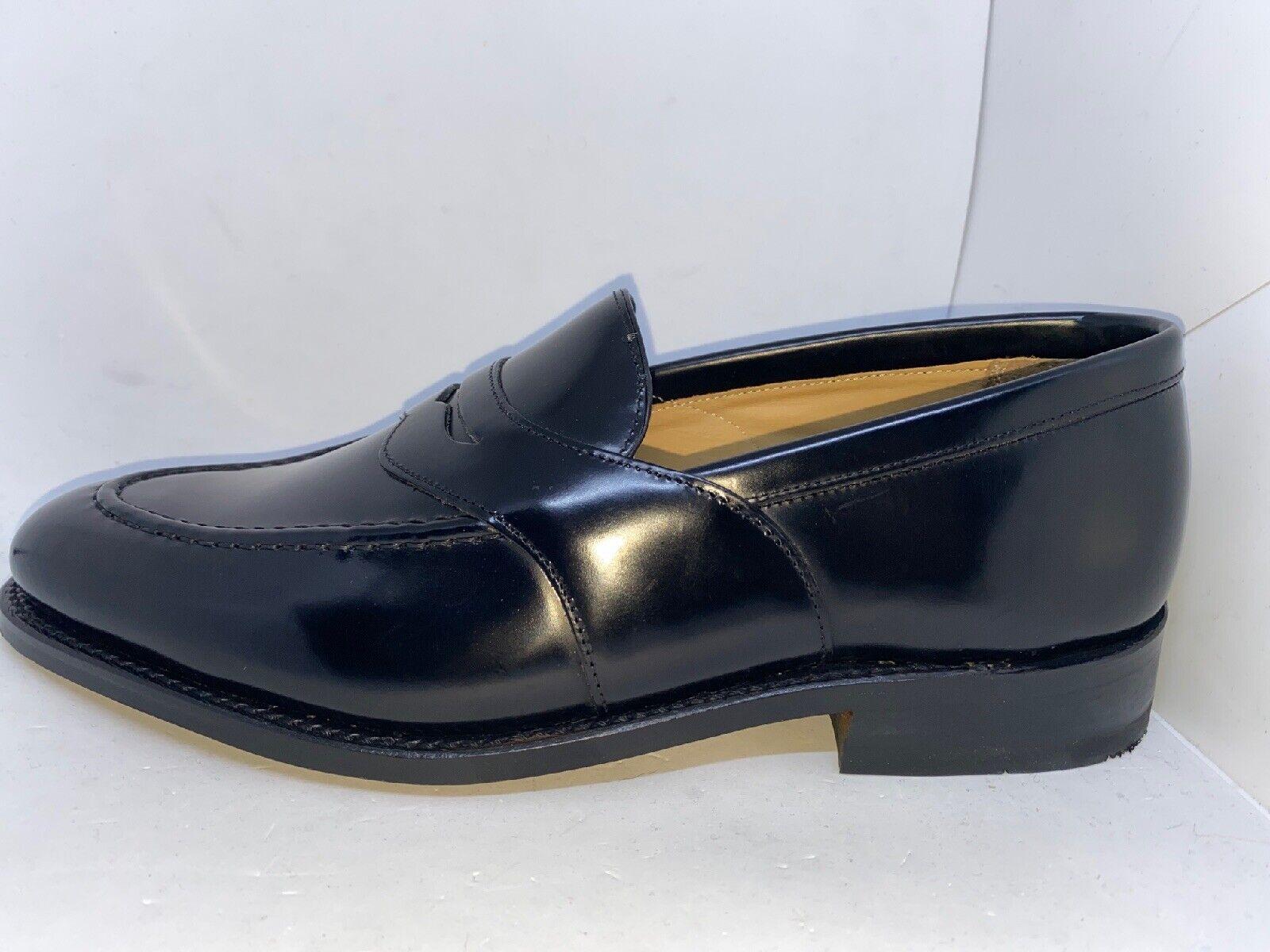 Charles Tyrwhitt formalmente Classic Saddle loafer Business zapatillas uk8 talla 42 nuevo