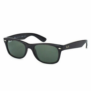 ray ban wayfarer rb2132 901 58 gloss black sunglasses polarized rh ebay com ray-ban rb2132 new wayfarer classic 901