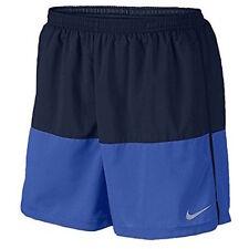 "Mens Size 2XL Nike Flex 5"" Running Shorts Blue/Black 642804 016"