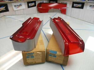 1969-Plymouth-Fury-I-amp-II-NOS-Mopar-Left-Right-Tail-Lens-Part-Number-2932711-710