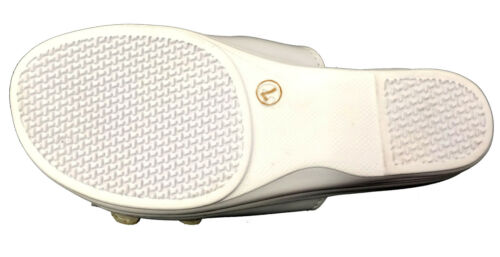 Women/'s Slides Sandals Adjustable Buckle Comfort Slip On Wedge Flip Flops Sizes