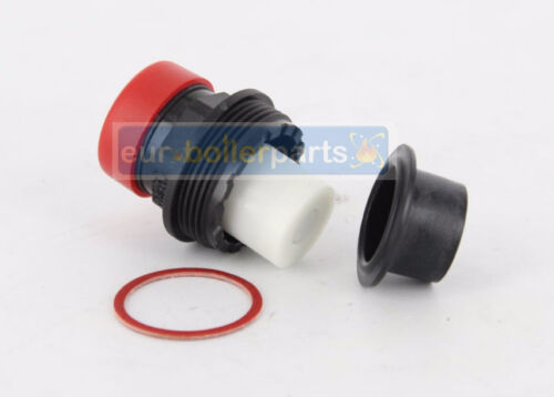 HEATLINE MONZA 24 24A /& 28 28A PRESSURE RELIEF VALVE TOP D003202395 BRAND NEW