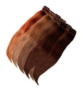 100-gr-Tresse-Schnitthaar-Haarverlaengerung-Extensions-Schnitthaar-Echthaar-Weft