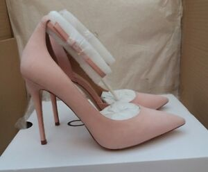 69f045d6c541 ALDO Staycey-55 Ladies Leather Stiletto Heel Shoes - Pink - Size UK ...