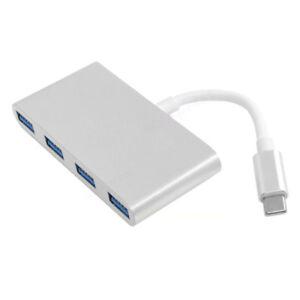 Thunderbolt-USB-3-1-Type-C-to-USB-3-0-4-Port-Hub-Adapter-USB-C-Aluminum