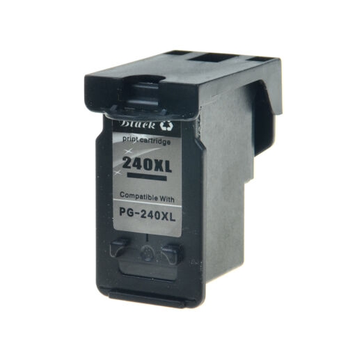 2 Pack PG240XL PG-240XL 240XL Ink Cartridge Black for Canon PIXMA MG3220 MG4120